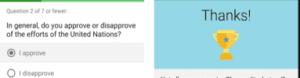 Google opinion rewards live surway