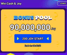 minijoy Pro daily loot pool